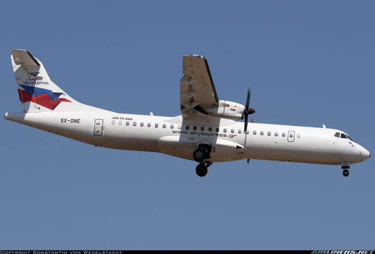 ATR ATR-72-500 (ATR-72-212A) - Sky Express   Aviation Photo #4544639   Airliners.net