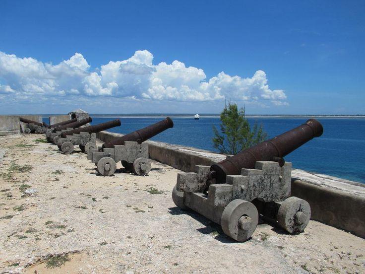 The Portuguese defenders of Fortaleza de São Sebastião on Mozambique Island withstood Dutch attacks in 1607 and 1608.