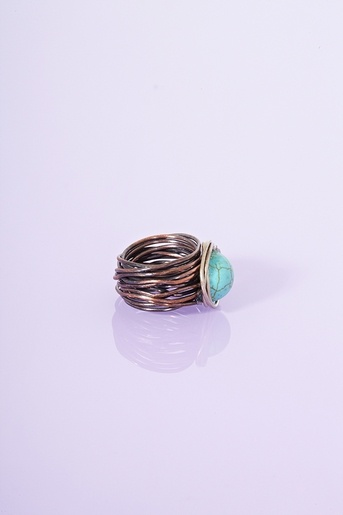 Wired Ring - Turquoise