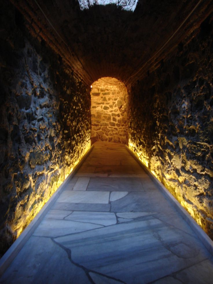 The catacomb of Agios Ioannis in Thessaloniki