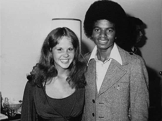 MJ and famous actress Linda Blair (The Exorcist) 1975 | Curiosities and Facts about Michael Jackson ღ by ⊰@carlamartinsmj⊱