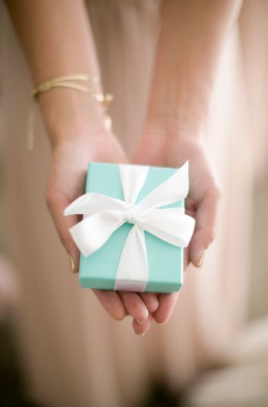 Treasures to Hold ~ Gift, Tiffany Blue