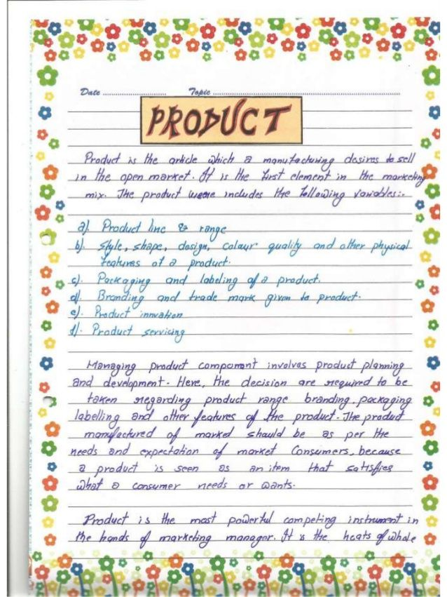 Project On Biscuits Business Studies Project Work 12 Class