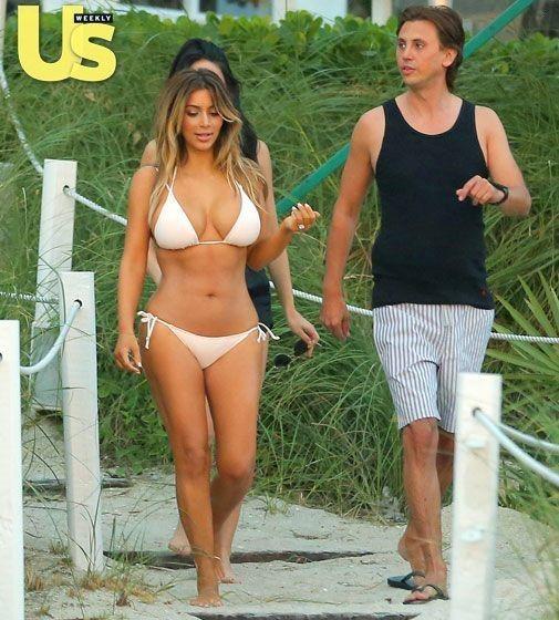Kim Kardashian's Sexy Post-Baby Bikini Body: See All the Photos! - Kim Kardashian Style