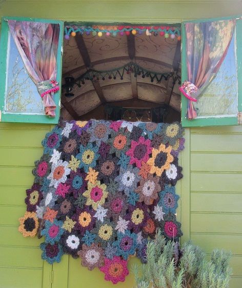 Crochet Shawl Blanket  Per Hour Personal Tuition Actual