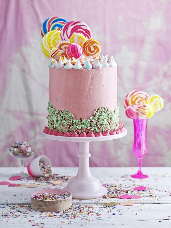 james moffatt photography candy cake lollie pops #lolliepops #colourfulcake #candycake