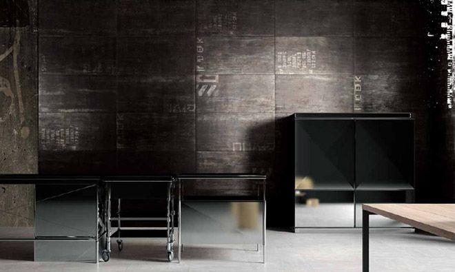 11 best images about carrelage metal on pinterest. Black Bedroom Furniture Sets. Home Design Ideas