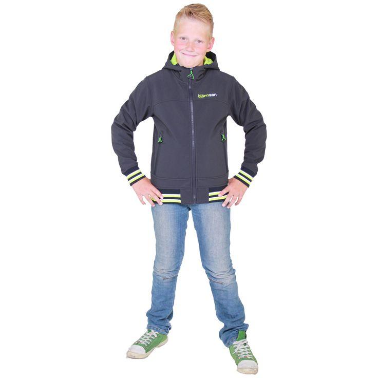 Bjornson Winter Softshell Jas Jongens - Ove