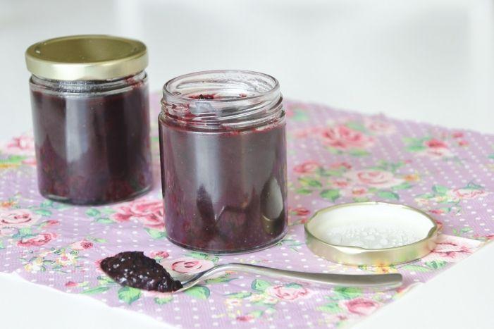 Hemkokt sockerfri blåbärssylt | PT by Emma