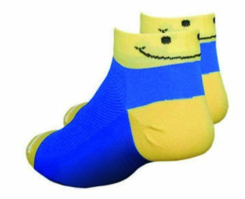 DeFeet Speede Smiley Socks DeFeet. $8.46. Aieator mesh weave instep is light and speeds drying. Made in the USA. Lightweight, durabale and soft on the inside for extra comfort. Machine wash cold, tumble-dry low, no chlorine bleach. 60% Nylon, 39% Coolmax EcoMade, 1% Lycra