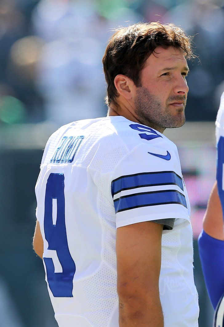 "Pin for Later: 30 Hot NFL Quarterbacks Who Give New Meaning to ""Fantasy Football"" Tony Romo, Dallas Cowboys"