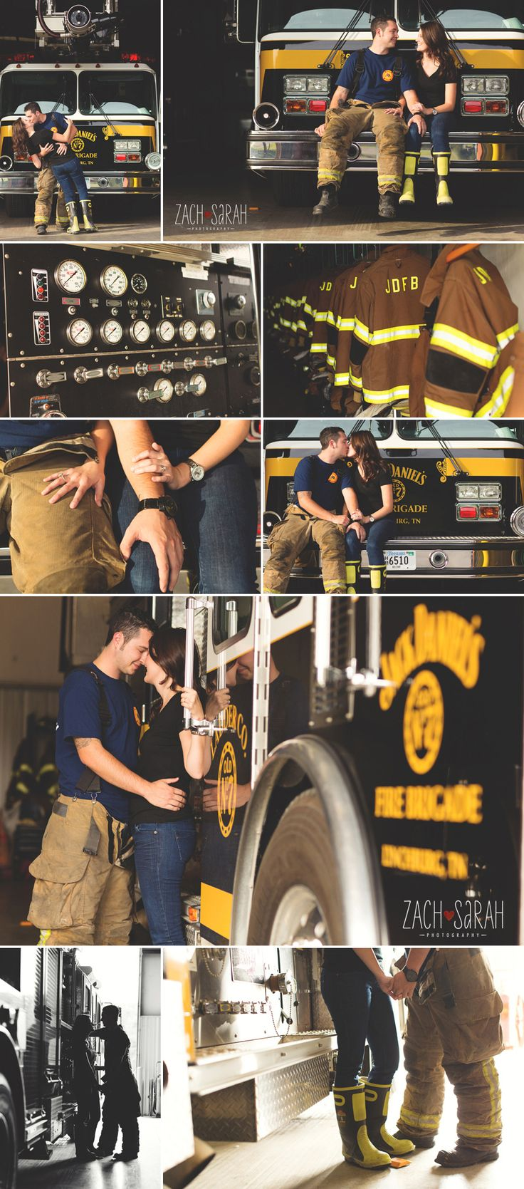 Firefighter lifestyle Engagement shoot (instead of firefighter ....plumber :D)