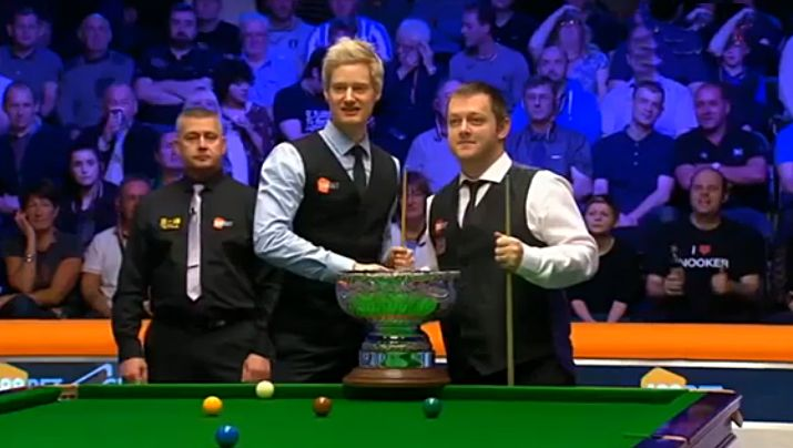 Neil Robertson and Mark Allen at Champion of Champions