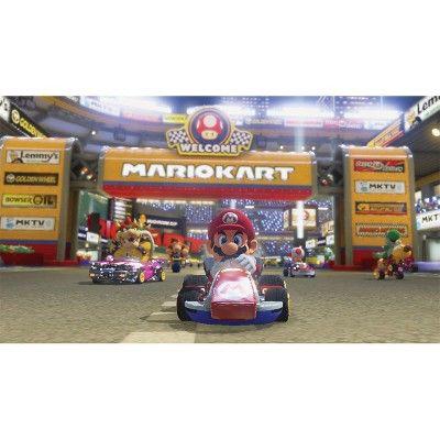 Nintendo Wii U Mario Kart 8 Deluxe Set Bundle, Black