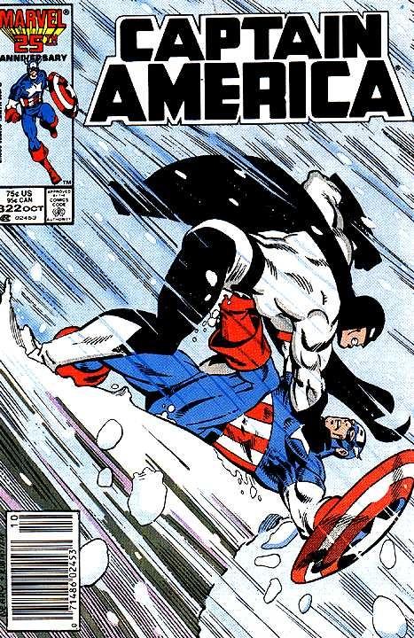 Captain America # 322 by Paul Neary & Joe Rubinstein