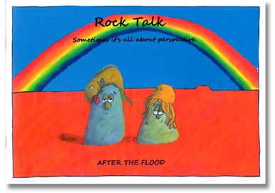 Rock Talk by Steve Bell A book of colourful cartoons that will get you laughing.