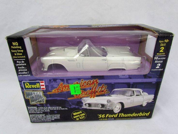 Revell American Graffiti '56 Ford Thunderbird 1:25 DieCast Model Kit NEW SEALED #Revell #Ford