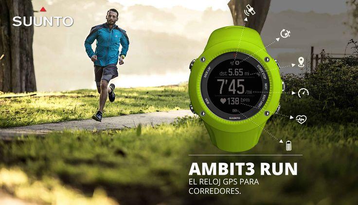 No mas excusas, Sal a correr con tu mejor aliado y compañero de carrera, Suunto Ambit3 Run para corredores exigentes. Incluye tecnología Bluetooth, navegación GPS completa, notificaciones de llamadas y mensajes de texto en tu reloj, planifica ruta online; Con Suunto movescount, además de compartir tus Moves desde cualquier lugar. #SuuntoPeru #SuuntoAmbit3Run #Ambit3Run #SuuntoMovescount
