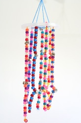 Windchime from pony beads