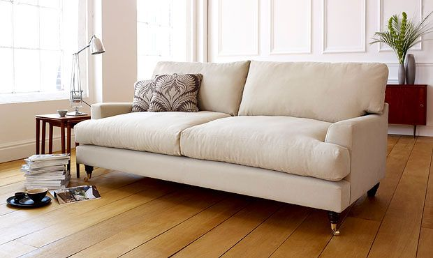 Islington Fabric Sofa - High Quality, Hand Crafted Leather Sofas: Darlings of Chelsea