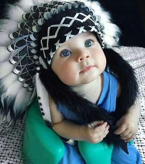 Little Chief Blue Eyes