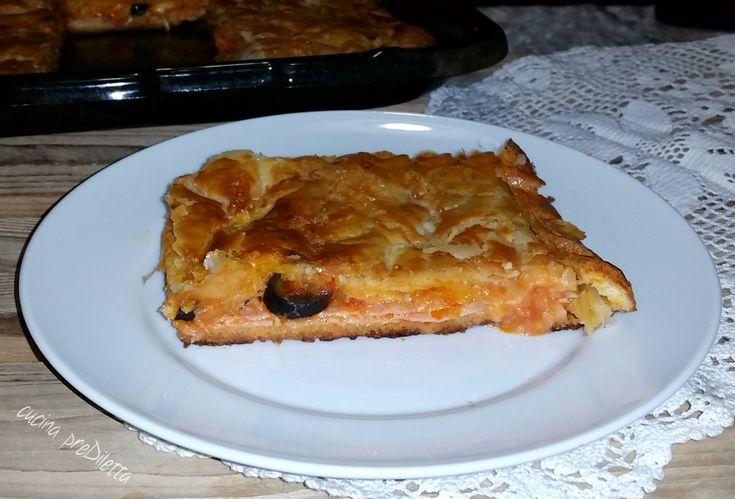 Pizza copertacon pasta sfoglia - ricetta | cucina preDiletta
