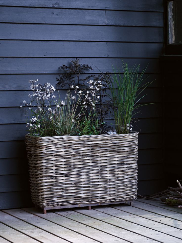 Rattan Planter - Planting - Outdoor Living