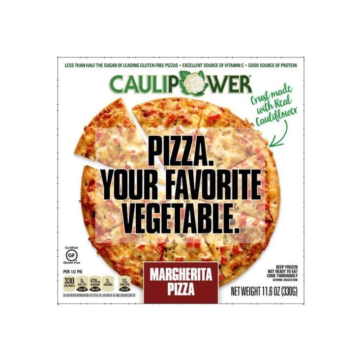 Caulipower frozen pizza margherita 116oz frozen pizza