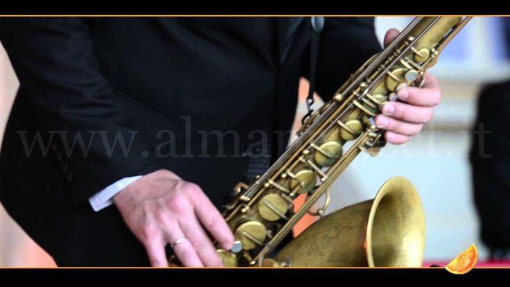 """ALMA PROJECT - GB Live Jazz TRIO - Dpiano Dbass Sax - """"My one and only love"""" (Guy Wood) - Villa Corsini di Mezzomonte"""