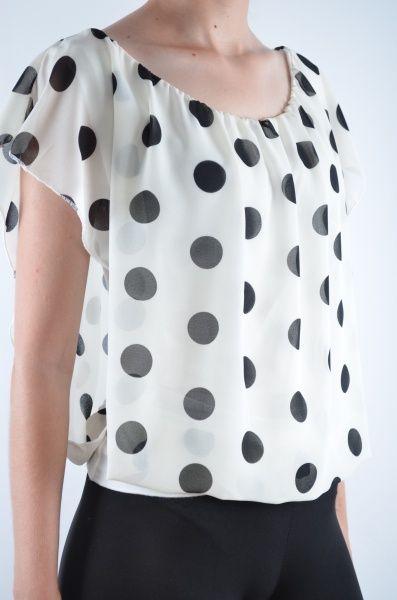 Bluza femei Polka Dot diverse culori