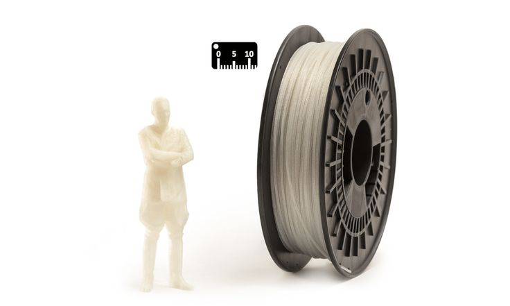 NYLON GLASS FIBER by Eumakers by the meter (by the yard)   NYLON GLASS FIBRE is a high quality filament in reinforced polyamide with glass fibres, which is odourless during the extrusion process. Glass fibre filament is ideal for engineering prototypes that require optimal mechanical and heat resistance   The manufactured articles obtained by the extrusion of this material cannot be deformed   www.monzamakers.com/shop   #3Dprinting #stampa3D #3Dprint #3Dfilaments #3Dfilament