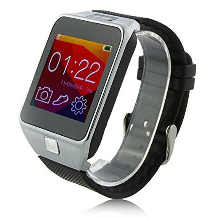 Qkking V8 1.54 inch Multi-Function Smartwatch - Silver. Remote notification: Now you can find the V8 intelligent watch can push the news of all software installed on your mobile phones for both android phone and iPhone, such as Wechat, QQ, facebook, twitter. Which could just be ok for android phone before. Using MTK2501 main chipset,more stable and fast.Fully compatible with Android phone. The latest technology bluetooth 4.0, mobile phone or watches use less battery power. life is…