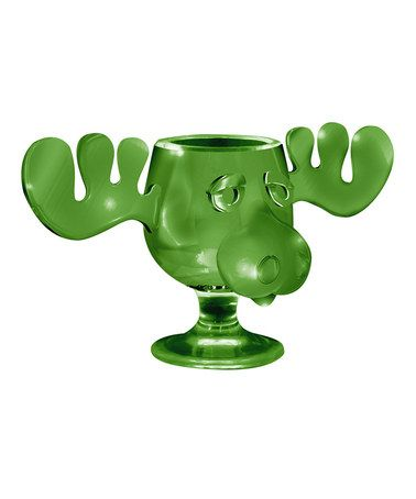 Take a look at this Green Christmas Vacation Moose Mug by ICUP Inc. on #zulily today!