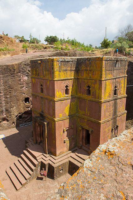 Rock-Hewn Churches, Lalibela, Ethiopia