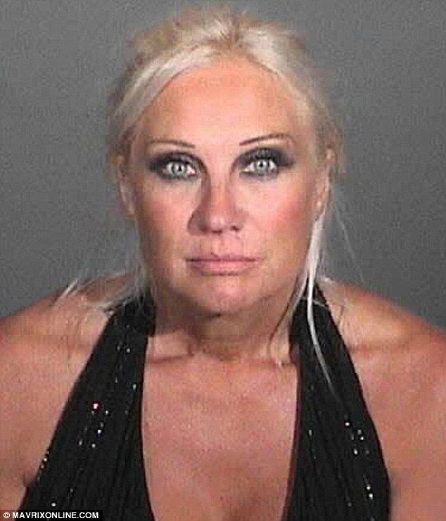 Pictured: Linda Hogan's wild-eyed mug shot emerges after DUI arrest