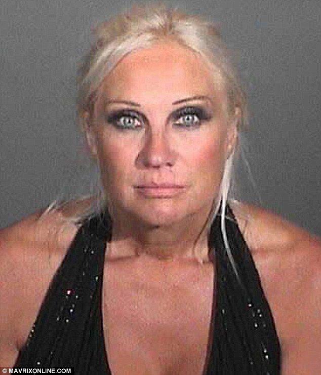 Pictured: Linda Hogan's wild-eyed mug shot emerges after DUI arrest