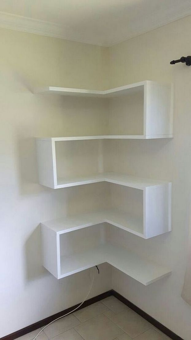 36 Design Models Corner Shelves Very Convenient 12 Top Home