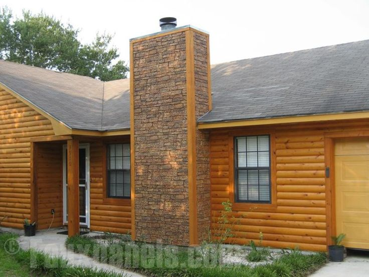 Fake Brick U0026 Stone Chimneys | Home Design Ideas