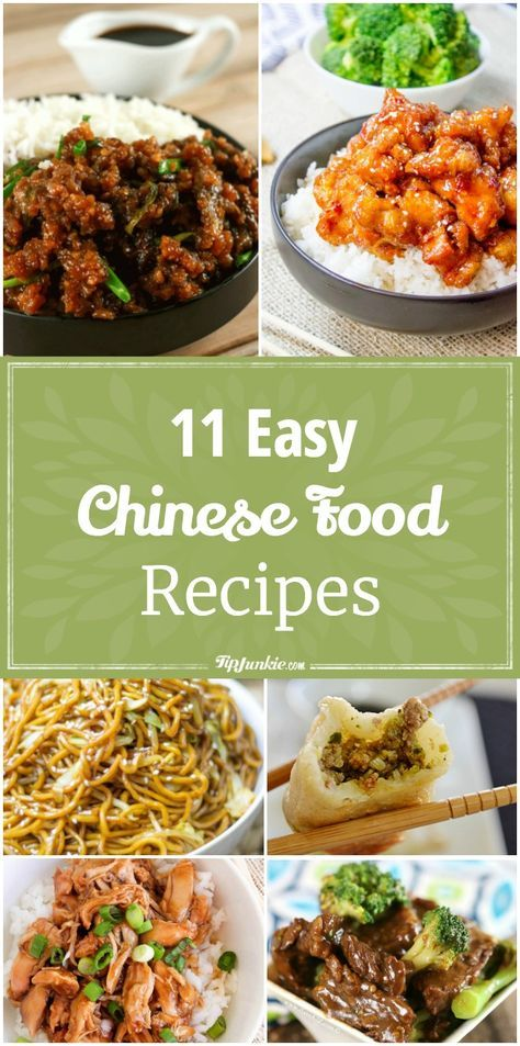 The 25 best chinese food menu ideas on pinterest chinese date 11 easy chinese food recipes via tipjunkie forumfinder Gallery