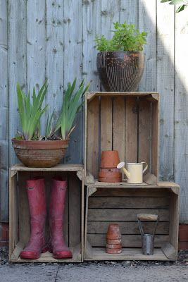 Trend Seven inspirational uses for Vintage Apple crates