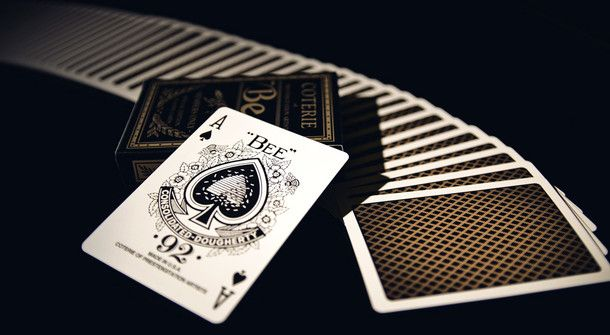The Coterie Bee Playing Cards [Gold Edition] | Coterie of Prestidigitation Artists