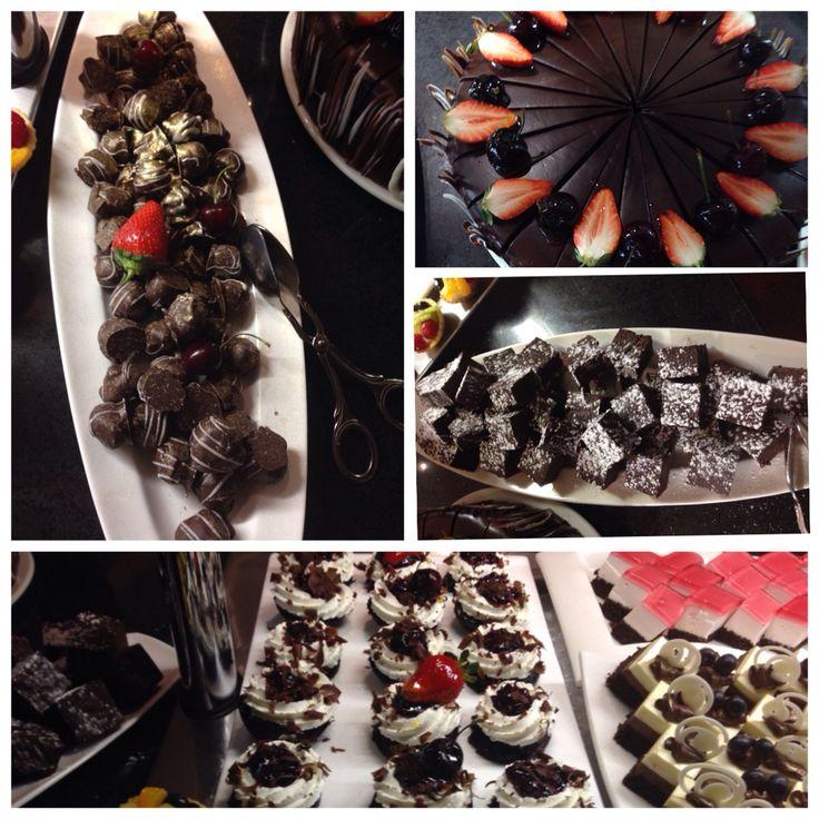 Yummy chocolate treats at Arabella Golf Estate & Spa in Hermanus near Cape Town