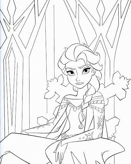 24 Besten Disney Frozen Birthday Coloring Pages Bilder Auf