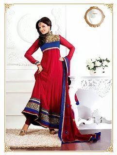 Latest Ready-Made Designer Salwar Suits 2014-2015  