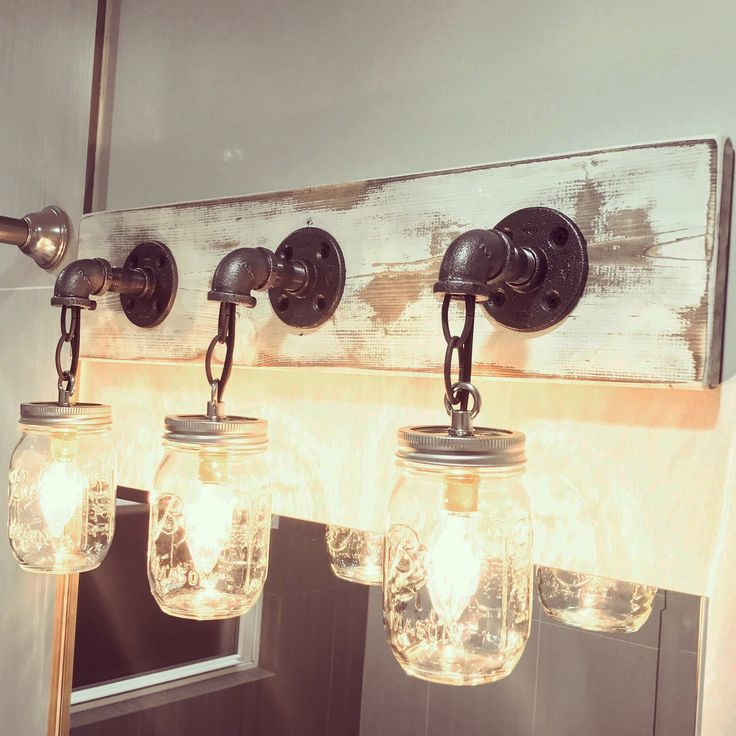 Just Reduced Rustic Handmade 3 Bulb Hanging Light Fixture Or: 25+ Best Ideas About Mason Jar Lighting On Pinterest