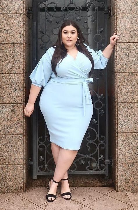 97e6b8b190b Cute dress in light blue