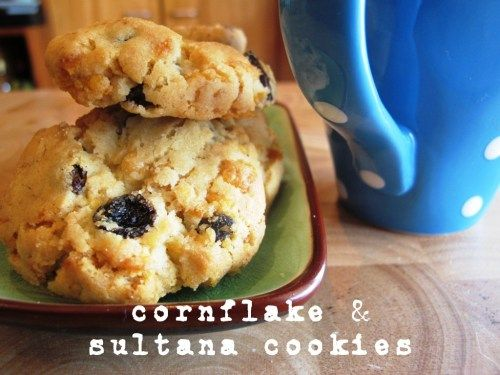 Cornflake and sultana cookies 5*