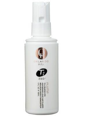 Orlando Pita + T3 Plump Heat-Seeking Liquid Hair Plumper Review: Hair Care: allure.com