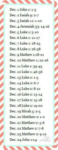 Christmas Scripture Countdown   25 Christmas Traditions I love these 25 simple and memorable ways to celebrate the most w...