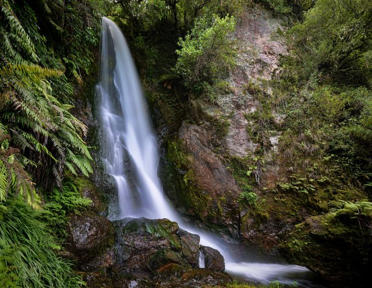 Wairere Falls by Linda Cutche on 500px